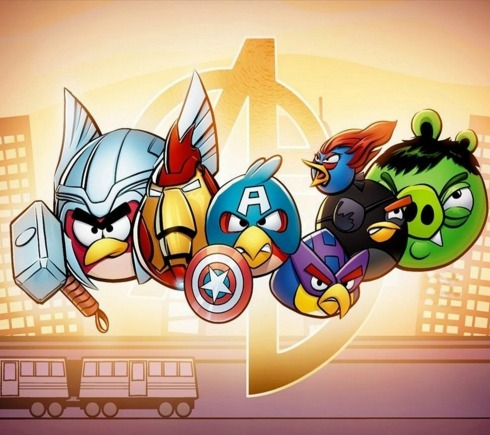The Angry Bird Avengers